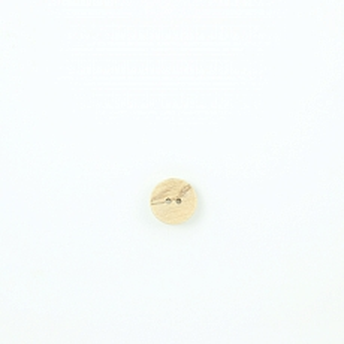 Bio Holzknopf Olivenholz geschüsselt 15mm