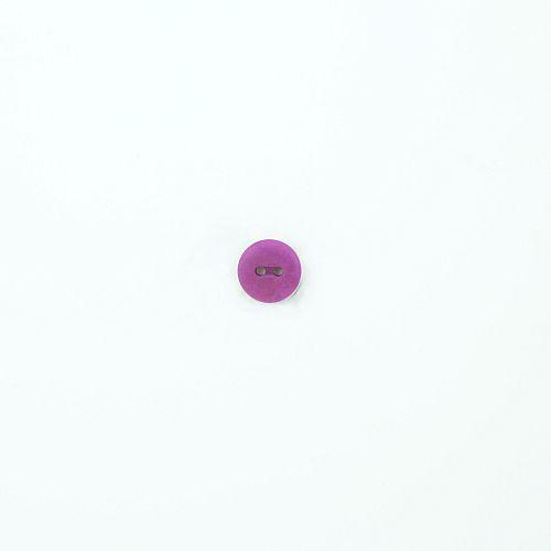 Bio Knopf Echt Steinnuss 12mm helles lila matt
