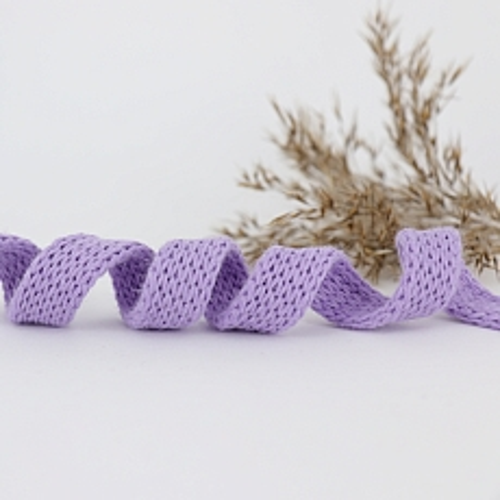 Bio Kordel Cord ME Blauregen violett uni 1,2cm Hamburger Liebe by Albstoffe