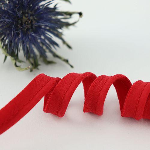 Bio Paspel Rot aus 100% Bio-Baumwolle AMANDINE CHA