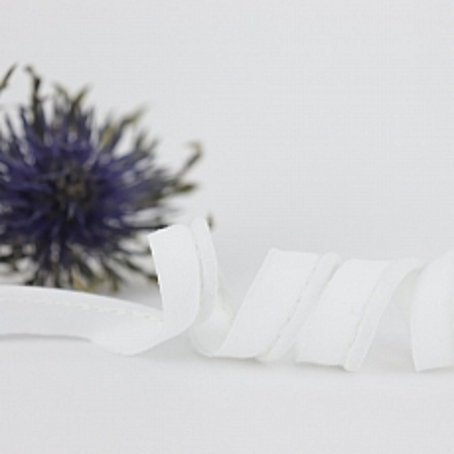 Bio Paspel Weiß aus 100% Bio-Baumwolle AMANDINE CHA
