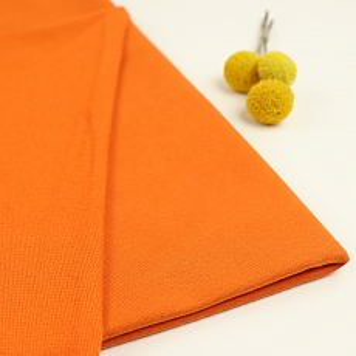 Bio Sommersweat French Terry uni orange