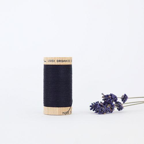 Nähgarn Marineblau 100% Bio Baumwolle Scanfil