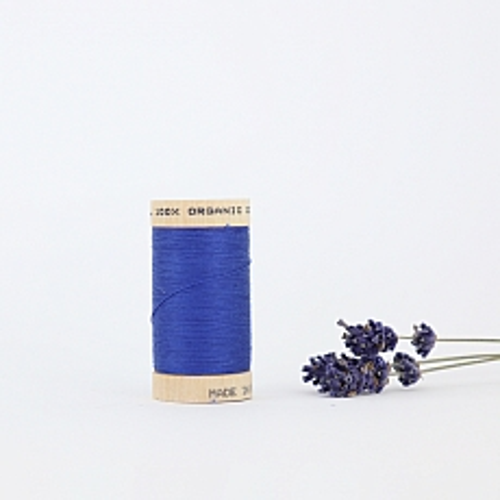 Nähgarn Ozeanblau 100% Bio Baumwolle Scanfil
