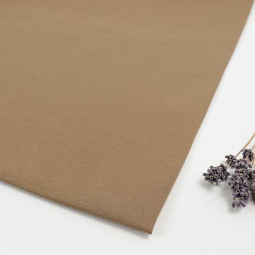 Organic Single Stretch Jersey in Camel von mind the MAKER
