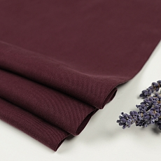 Tencel Twill Medium in Maroon von Meet Milk