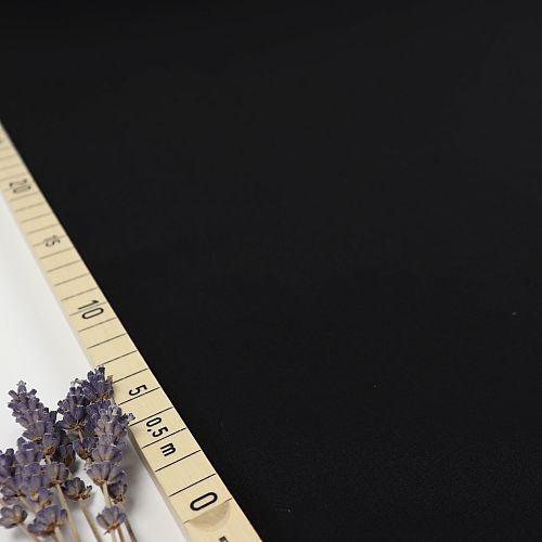 Uni Bio Popeline schwarz von Amandine Cha