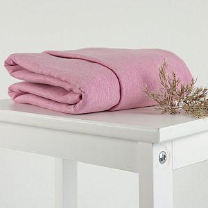 Bio Wintersweat Barbados rosa meliert Stoffonkel