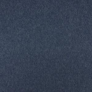 Bio Baumwollfleece Stoff Aruba dunkelblau meliert Stoffonkel
