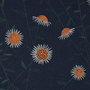 Bio Popeline Baumwollstoff Flower Field aus der Serie Bloom Together von Cloud9
