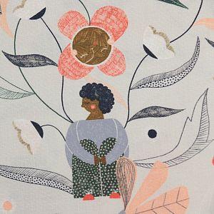 Bio Popeline Baumwollstoff Garden Gather aus der Serie Bloom Together von Cloud9
