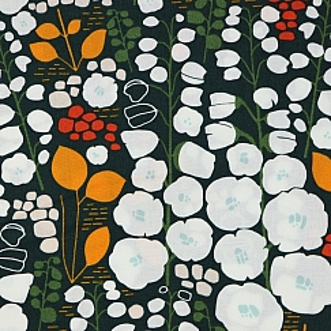 Bio Popeline Baumwollstoff Stockbridge black von Cloud9 fabrics