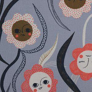 Bio Popeline Baumwollstoff Sun Stretch aus der Serie Bloom Together von Cloud9