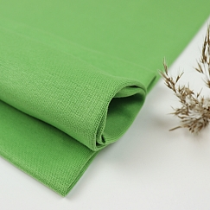 Bio Bündchen Stoff uni kiwi grün Stoffonkel