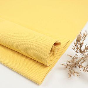 Bio Bündchen gerippt uni Blonde Yellow