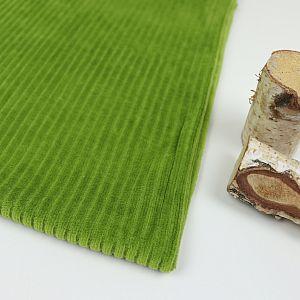 Bio Cordnicky in avocado grün von Stoffonkel
