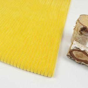 Bio Cordnicky in senf gelb von Stoffonkel