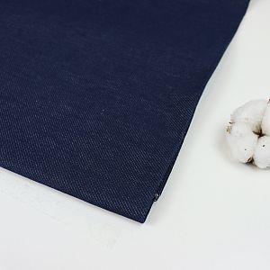 Bio Jeansstoff in Marineblau von Amandine Cha