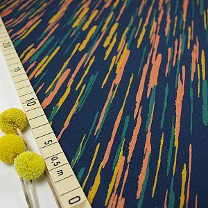 Bio Jersey Stoff Color Rain Nordlichter von Fabrilogy
