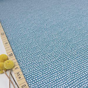 Bio Jersey Stoff Dotted Line beach house blue von Stoffonkel