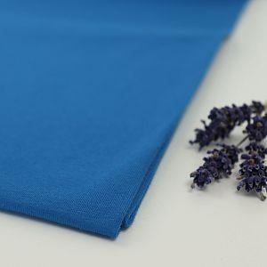 Bio Jersey Stoff uni blau