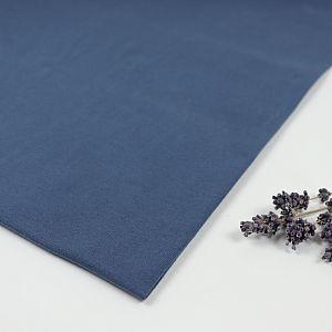 Bio Jersey Stoff uni china blue Stoffonkel