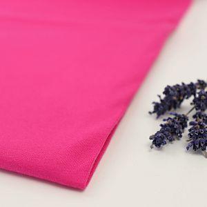 Bio Jersey Stoff uni pink