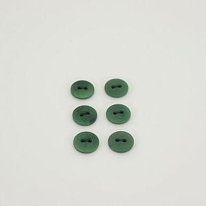 Bio Knöpfe Echt Steinnuss 12mm dunkelgrün matt im Set