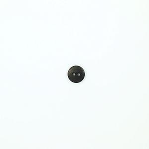 Bio Knopf Echt Steinnuss 12mm Blauholz schwarz matt pflanzengefärbt vegan
