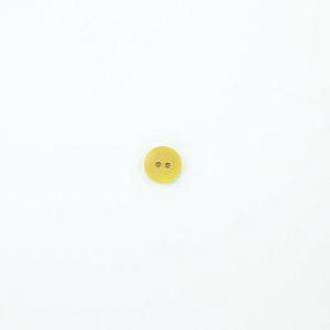Bio Knopf Echt Steinnuss 12mm Färberwau gelb pflanzengefärbt vegan