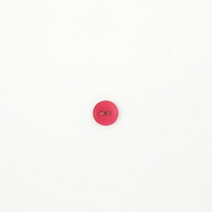 Bio Knopf Echt Steinnuss 12mm Pink Peacock satin matt