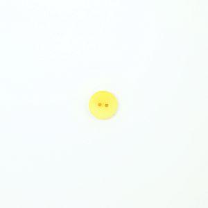 Bio Knopf Echt Steinnuss 15mm Aspen Gold seidenmatt