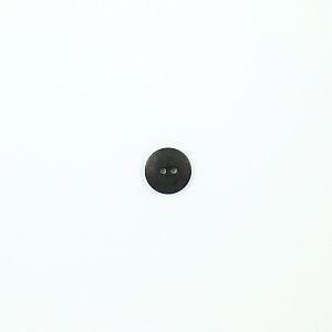 Bio Knopf Echt Steinnuss 15mm Blauholz schwarz matt pflanzengefärbt vegan