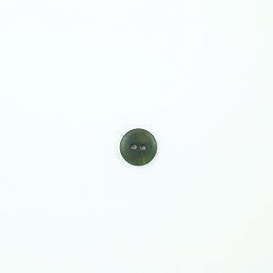 Bio Knopf Echt Steinnuss 15mm Indigo grün matt pflanzengefärbt vegan