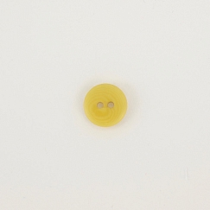 Bio Knopf Echt Steinnuss 15mm gelb pflanzengefärbt vegan