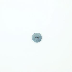 Bio Knopf Echt Steinnuss 15mm helles grau matt