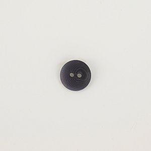 Bio Knopf Echt Steinnuss 15mm jeansblau matt