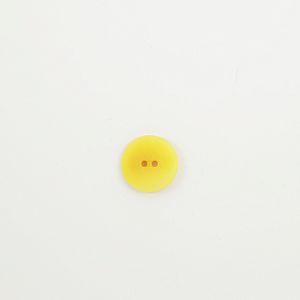 Bio Knopf Echt Steinnuss 20mm gelb matt