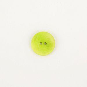 Bio Knopf Echt Steinnuss 20mm hellgrün matt