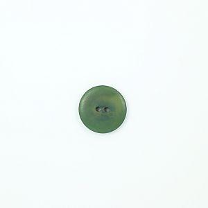 Bio Knopf Echt Steinnuss 25mm Indigo grün matt pflanzengefärbt vegan