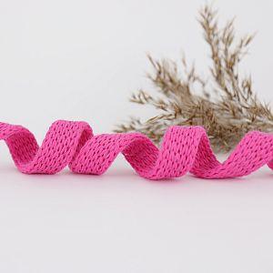 Bio Kordel Cord ME pink uni 1,2cm Hamburger Liebe by Albstoffe