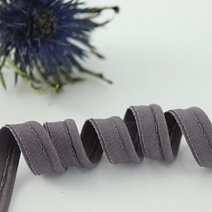 Bio Paspel Grau aus 100% Bio-Baumwolle AMANDINE CHA