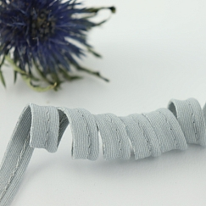 Bio Paspel Hellgrau aus 100% Bio-Baumwolle AMANDINE CHA