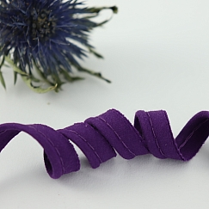 Bio Paspel Violett aus 100% Bio-Baumwolle AMANDINE CHA