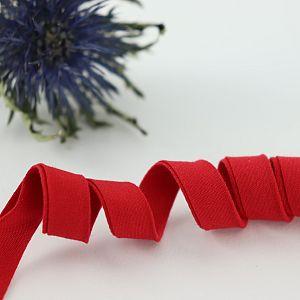 Bio Schrägband Rot aus 100% Bio-Baumwolle AMANDINE CHA