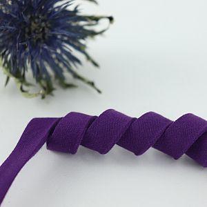 Bio Schrägband Violett aus 100% Bio-Baumwolle AMANDINE CHA