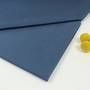 Bio Sommersweat French Terry uni china blau von Stoffonkel