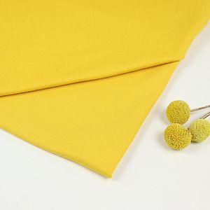 Bio Sommersweat French Terry uni senf gelb von Stoffonkel