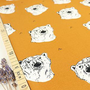 Bio Sommersweat Polar Bear in Burnt Ochre von Bloome Copenhagen