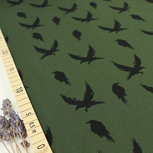 Bio Sommersweat Winter Crow in Camo Green von Bloome Copenhagen